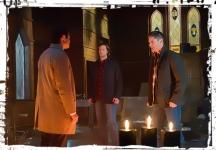 Casifer Sam Dean Supernatural Hell's Angel