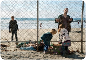Children on beach Fear the Walking Dead We All Fall Down