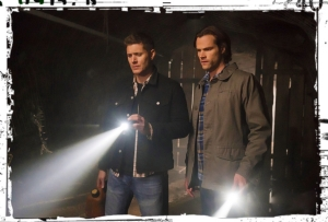 Dean Sam flashlights Supernatural The Chitters