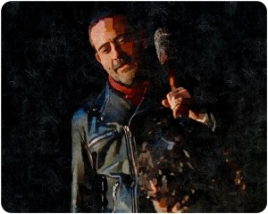 Negan The Walking Dead The Last Day on Earth