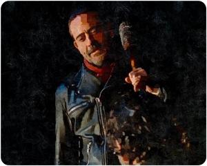 Negan The Walking Dead The Last Day on Earth