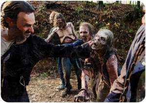 Rick walkers The Walking Dead The Last Day on Earth