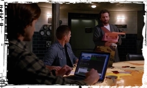 Chuck robe Supernatural All in the Family