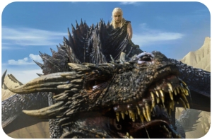 Daenerys Drogon Game of Thrones Blood of My Blood