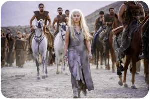 Daenerys Targaryen walks Game of Thrones Oathbreaker