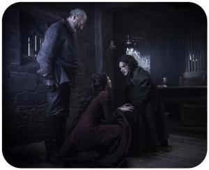 Davos Melisandre Jon Snow Game of Thrones Oathbreaker