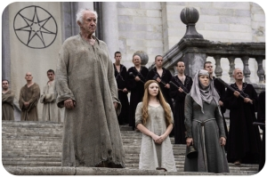 HIgh Sparrow Margaery Game of Thrones Blood of My Blood