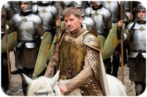 Jaimie Lannister and soldiers Game of Thrones Blood of My Blood
