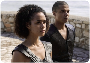 Missandei Grey Worm Game of Thrones Book of the Stranger