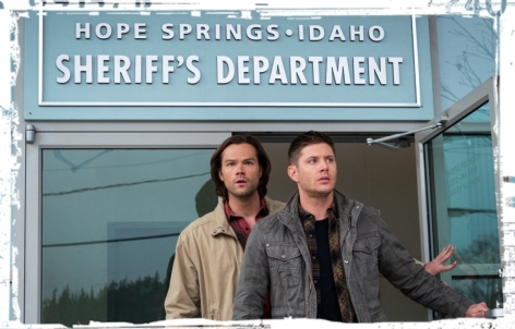 Sam and Dean Winchester Supernatural Dont Call me Shurley