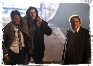 Sam Donatello with Lucifer Supernatural All in the Family
