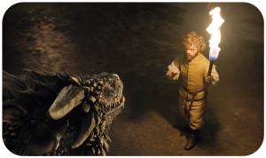 Tyrion Lannister dragon Game of Thrones Home