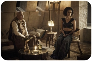 Varys Missandei Game of Thrones Home