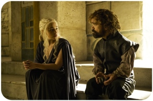 Daenerys Tyrion Game of Thrones The Winds of Winter