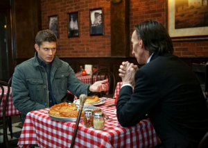 Dean and Death pizza chicago Supernatural