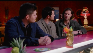 Dean Cas Sam Things they left behind Tahitian Bar Supernatural