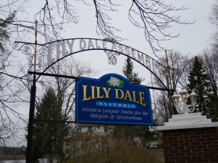Lily Dale sign