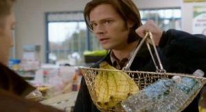 Sam shopping 7x22 Supernatural