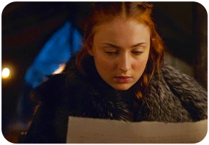 Sansa Stark letter Game of Thrones The Broken Man