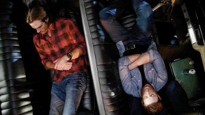 Winchesters sleeping in Impala Baby Supernatural