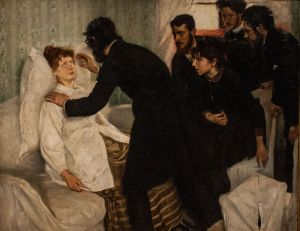 Hypnotic Séance 1887 by Richard Bergh
