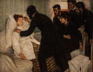 Hypnotic Séance 1887 by Richard Bergh