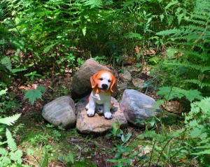 Lily Dale Pet Cemetery beagle
