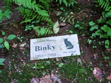 Lily Dale Pet Cemetery Binky