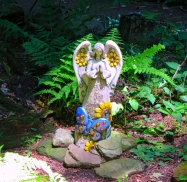 Lily Dale Pet Cemetery bless garden