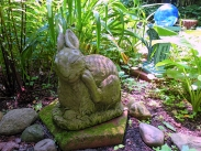 Lily Dale Pet Cemetery bunny