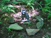 Lily Dale Pet Cemetery cat