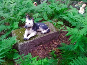 Lily Dale Pet Cemetery German Shepard