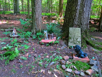 Lily Dale Pet Cemetery knome