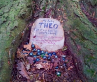 Lily Dale Pet Cemetery My Baby Theo
