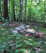 Lily Dale Pet Cemetery rocks