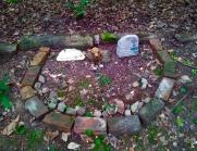 Lily Dale Pet Cemetery semi circle