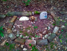 Lily Dale Pet Cemetery semi circle