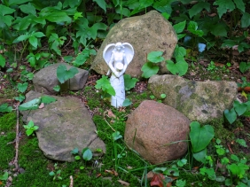 Lily Dale Pet Cemetery tiny angel