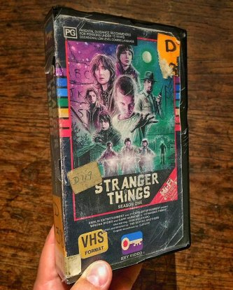 VHS Stranger Things