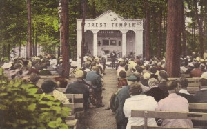 Forest Temple postcard
