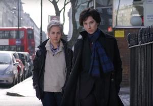 Sherlock Watson bus Hillywood Sherlock Parody