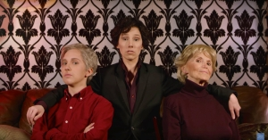 Sherlock Watson Mrs Hudson Hillywood Sherlock Parody