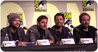 Supernatural panel SDCC 2016 Jared Jensen Mark Misha