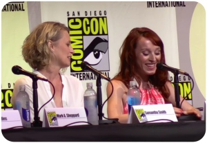 Supernatural panel SDCC 2016 Ruth Sam