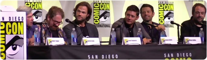Supernatural panel SDCC 2016