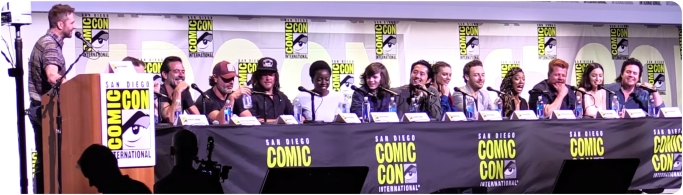 The Walking Dead Comic Con full panel