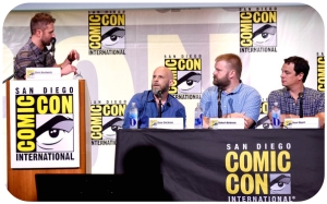 The Walking Dead Comic Con Scott Gimple Robert Kirkman