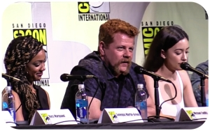 The Walking Dead Cudlitz Martin Green Serratos