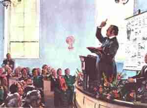 Wlliam Miller preaches