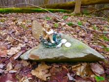 lily-dale-fairy-trail-2-angel-sitting-on-rock